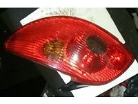 Peugeot 206 N/S Rear Light (2005)