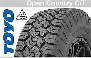 TOYO OPEN COUNTRY CT'S ALL SIZES STARTING FROM 1168.00 INSTALLED