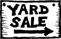 Yard sale-Sat June 4
