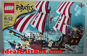LEGO PIRATES Brickbeard's Bounty 6243 for LEGO fans of all ages!