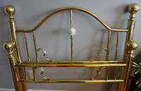 SOLID BRASS BED FRAME HAND MANUFACTURED BY ARTISAN
