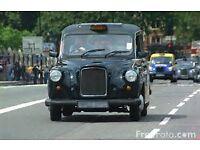 Black Hackney Taxi License £37000