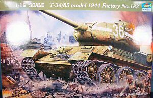 Trumpeter 1/16 T34 85