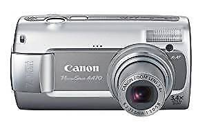 Used Canon PowerShot A470 Digital Camera
