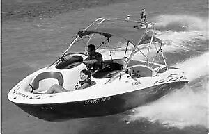 7 Seat Open Bow Wakeboard Boat with Tower for Sale