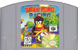 Diddy Kong Racing Ninendo 64