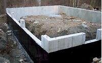 Concrete Contracting. Foundations and floors