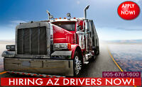 Hiring AZ TEAM Winnipeg Dedicated 54c/mile+HST
