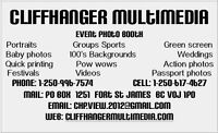 Cliffhanger Multimedia Photos and Videography