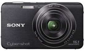 SONY Digital Camera DSC-W630 16.1 megapixels, 2 batteries, charger & case - BARGAIN