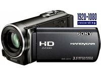 Sony Handycam HDR-CX115 recording camera