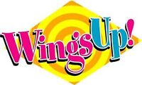 WingsUp Delivery Driver NEEDED!