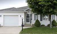 2 bed 2 bath Retirement Bungalow with Golf Course Views!