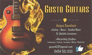 GUSTO GUITARS Buccan Logan Area Preview