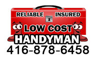 ☻☻☻LOW COST AND EFFECTIVE HANDYMAN√√√
