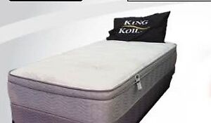 Brand new eurotop mattress and box $298 only + FREE DELIVERY
