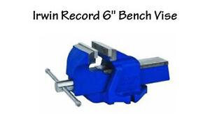 "Brand new Irwin 6"" table vice"