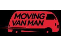 24/7 MOVING VAN WITH MAN HIRE HOUSE MOVERS OFFICE RELOCATION BIKE DELIVERY CAR RECOVERY MAN AND VAN