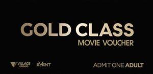 Village Gold Class Tickets (x 2) St Kilda East Glen Eira Area Preview