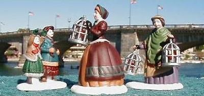 Dept 56 Dickens Village The Bird Seller Ladies Figures Christmas ~ MINT in Box!