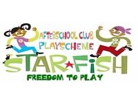 Afterschool Playworkers needed - for cover and regular shifts