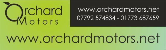 Orchard Motors - Used Car Sales  Used Cars Dealer  Pyehill Road Jacksdale  Nottinghamshire
