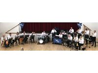Trombone player wanted to join rehearsal big band meeting in Hampton