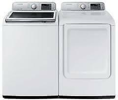 RCA / INSIGNIA FULL SIZE WASHER & DRYER SET. Color White. Brand new.  Super Sale $599.00 NO TAX.