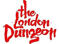 2 LONDON DUNGEON TICKETS FOR BANK HOLIDAY SUNDAY 26TH AUGUST 2018