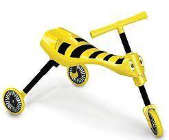 Kids Scuttlebug Bumblebee Push Bike