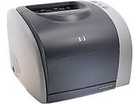 Free HP 2550N Printer with Toner cartridges