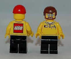 LEGO CITY STORE EMPLOYEE-----MINIFIGURE Golden Grove Tea Tree Gully Area Preview