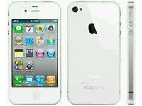 Iphone 4 8GB White (Unlocked) in good condition