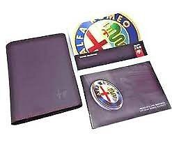 ALFA ROMEO 159 SERVICE PACK/WALLET WANTED