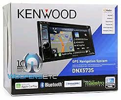 Kenwood deck with navigation