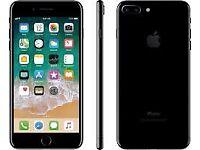 iPhone 7 Plus, 256GB, Jet Black, Unlocked.