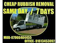 Cheap fast rubbish removals/ waste registered. Call for a free quote!