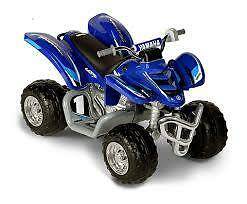 12-Volt Battery Powered Yamaha ATV (Blue)