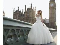 Ronald Joyce Lola Wedding dress - size 14