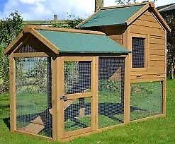brand new rabbit guinea pig hutch chicken coop,