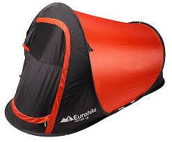 Eurohike pop 200 2 man tent, as new