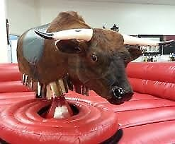 Mechanical Bull free to collect. Perfect for parties and events.