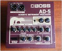 Pré-Amp Acoustic Boss AD-5