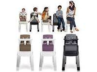 High chair/seat purple version