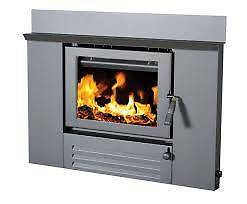 Wood Heater Heatcharm I500 Inbuilt Floor Model Sale Browns Plains Logan Area Preview