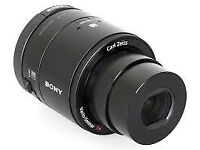 Sony QX100 Lens Style Camera for Smartphones & Tablets - Black (Carl Zeiss Lens)