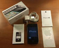 Black iPhone 4S (Bell, Virgin Mobile), 16 GB, Like New in Box