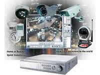 cctv cameras system of 3 cameras