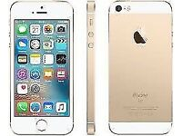 I phone SE gold UNLOCKED BRAND NEW