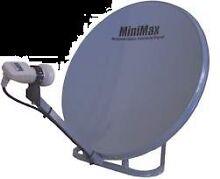 Minmax 75cm Satelite dish Emu Park Yeppoon Area Preview